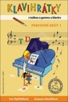 Klavihrátky - s tužkou a gumou u klavíru - pracovní sešit 1 - Iva Oplištilová; Zuzana Hančilová