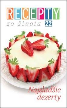 Recepty zo života 22 Najsladšie dezerty -