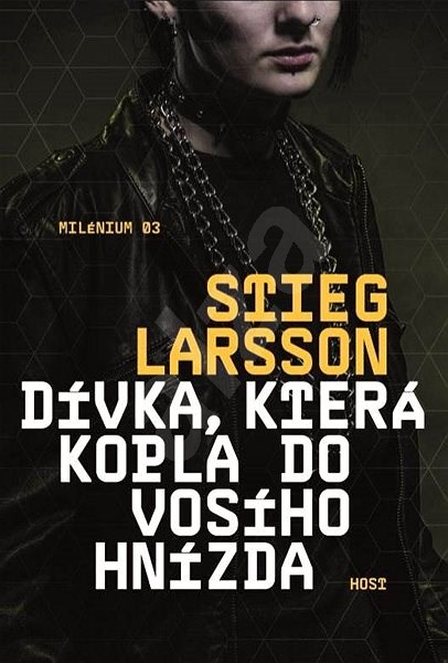 Dívka, která kopla do vosího hnízda: Milénium 03 - Stieg Larsson