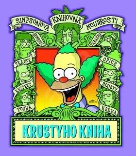Simpsonova knihovna moudrosti Krustyho kniha - Matt Groening