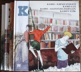 Kamo I-IV BOX - Daniel Pennac