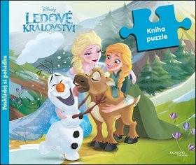 Ledové království Kniha puzzle: poskládej si pohádku - Walt Disney