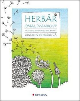 Herbář omalovánkový - Zuzana Petráková