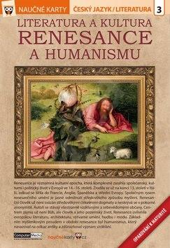 Naučné karty Literatura a kultura renesance a humanismu: Český jazyk/ literatura 3 -
