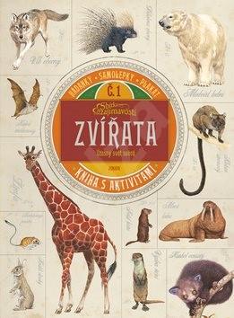 Zvířata Úžasný svět savců: Kniha s aktivitami -