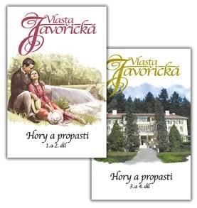 Kniha Komplet 2 ks Hory a propasti 1. - 4. díl: Komplet obsahuje 2 svazky - Vlasta Javořická