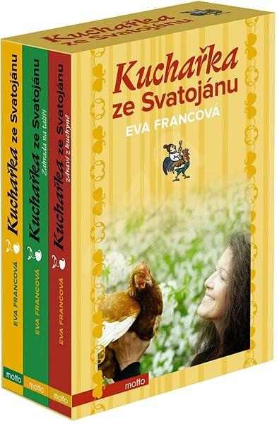 Kuchařka ze Svatojánu 1-3 BOX - Eva Francová