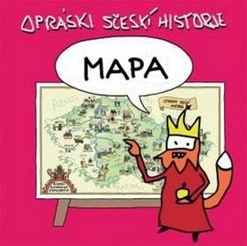 Mapa Opráski sčeskí historje - jaz