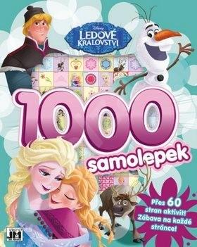 1000 samolepek Ledové království -