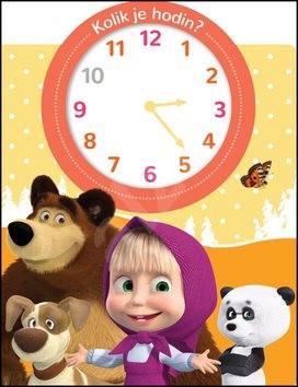 Máša a medvěd Kolik je hodin? -