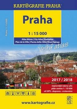 PRAHA velký atlas města 1:15 000 -