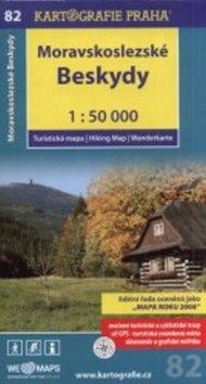 Moravskoslezské Beskydy 1:50 000: turistická mapa -
