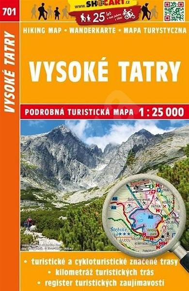 Vysoké Tatry 1:25 000: 701 -