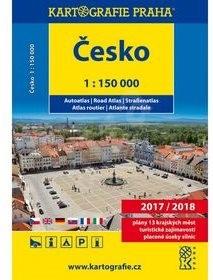 Česko autoatlas 1 : 150 000 -