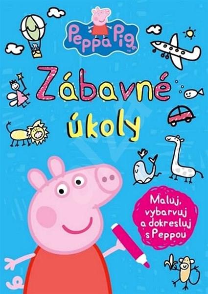 Peppa Pig Zábavné úkoly: Maluj, vybarvuj a dokresluj s Peppou -