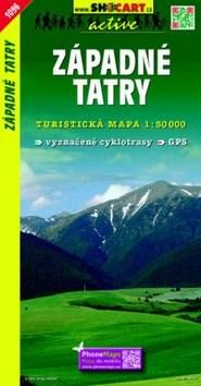 Západné Tatry: Turistická mapa 1:50 000 -