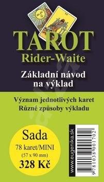 Tarot Rider - Waite: Základní návod na výklad + sada karet -