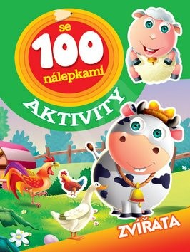 Aktivity se 100 nálepkami Zvířatá -