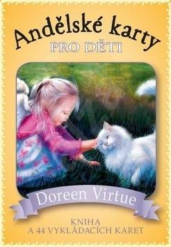 Andělské karty pro děti: kniha a 44 karet - Doreen Virtue