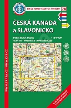 KČT 78 Česká Kanada a Slavonicko -