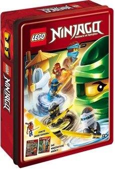 LEGO NINJAGO Dárková krabička: obsahuje minifigurku + 2 knížky -