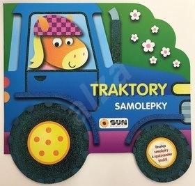 Traktory samolepky -