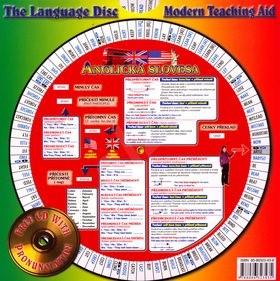 Anglická slovesa 1 a 2 + CD: Otočná mapka -