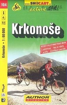 Krkonoše 1:60 000: 104 cykloturistická m. -