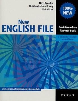 New English file Pre-intermediate Studenťs Book s anglicko-českým slovníčkem - Clive Oxenden; Christina Latham-Koenig