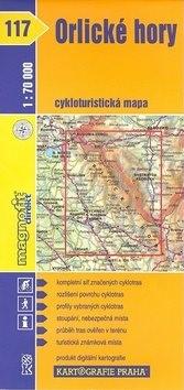 Orlické hory: cykloturistická mapa č. 117 -
