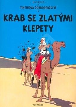 Krab se zlatými klepety - Hergé