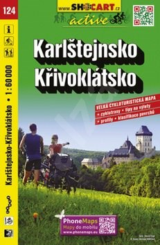 Karlštejnsko Křivoklátsko 1:60 000: 124 -