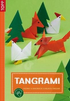 Tangrami: SK5812 - figúrky a dekorácie z dielikov origami -