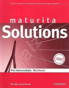 Maturita Solutions pre-intermediate workbook Czech Edition -
