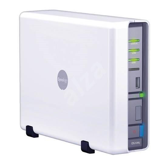 Synology All-in-1 NAS server DS-109j 1TB - Disková stanice