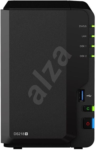 Synology DS218+ 2x4TB RED - Datové úložiště