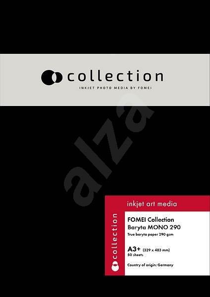 FOMEI Collection Baryta MONO 290 A3+ (32.9 x 48.3cm)/50 - Fotopapír