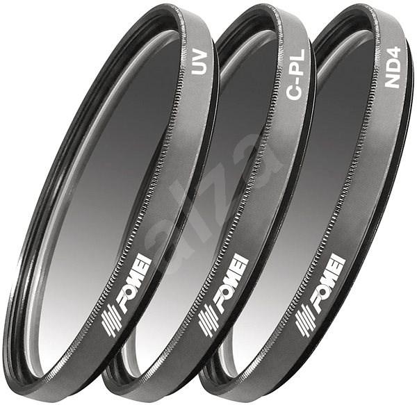 Fomei Filtr Kit 67mm (UV, CPL, ND4) - UV filtr