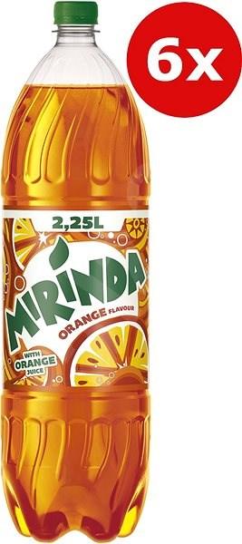 Mirinda Orange 6x2,25l PET - Limonáda