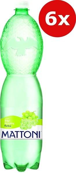 Mattoni bílé hrozny 6x1,5l PET - Ochucená voda