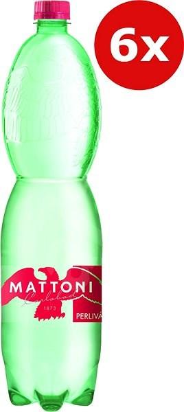 Mattoni perlivá 6x1,5l PET - Minerální voda