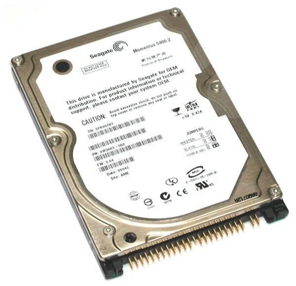 "Seagate 2.5"" Momentus 5400.3 160GB - Pevný disk"