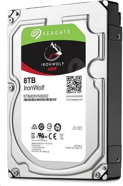 Seagate IronWolf 8TB - Pevný disk