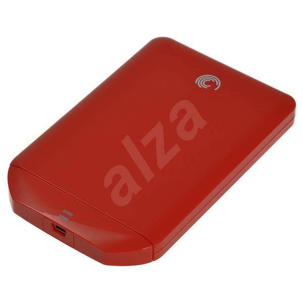 Seagate FreeAgent GoFlex 500GB červený - Externí disk
