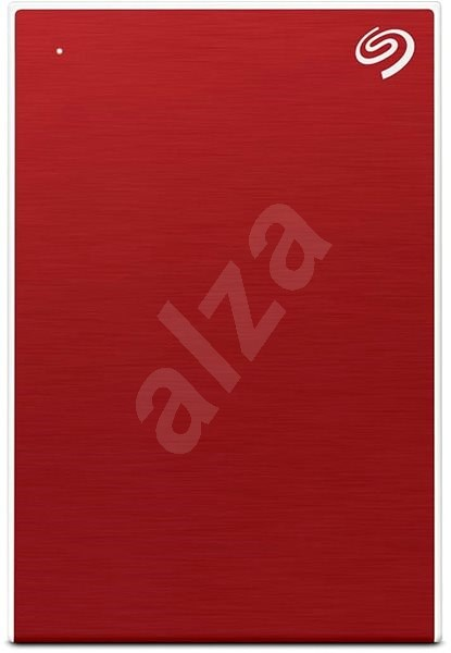 Seagate Backup Plus Portable 4TB Red - Externí disk
