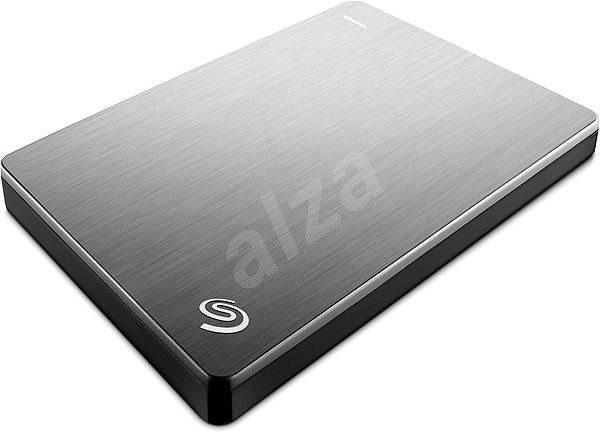 Seagate BackUp Plus Slim Portable 1TB stříbrný - Externí disk