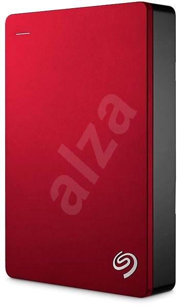 Seagate BackUp Plus Portable 4TB červený - Externí disk