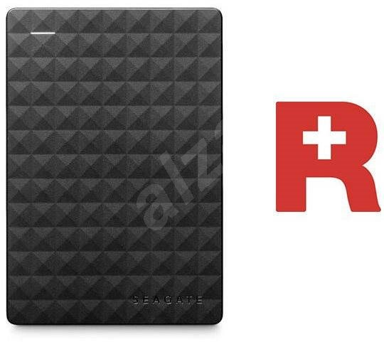 Seagate Expansion Portable 2TB + Rescue Plan - Externí disk