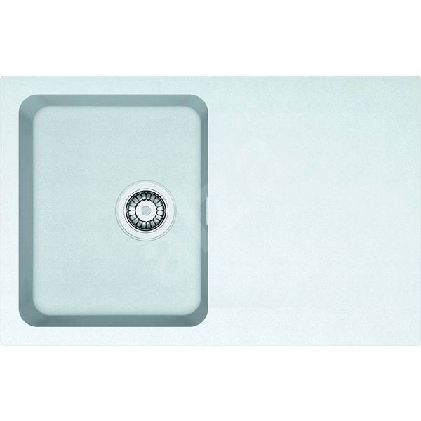 FRANKE OID 611-78 bílý 780x500mm - Tectonitový dřez