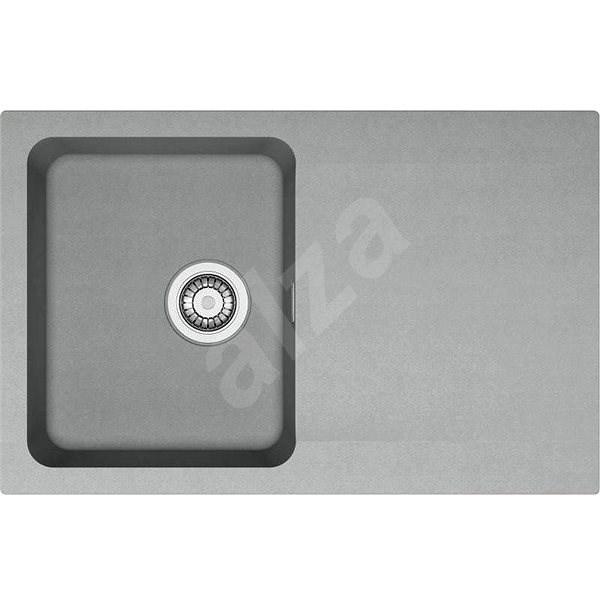 FRANKE OID 611-78 šedý 780x500mm - Tectonitový dřez